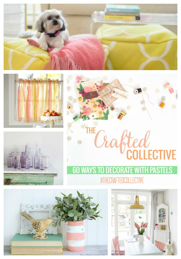 The Crafted Collective 60 Ways to Decorate with Pastels at thebensonstreet.com