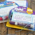 Dry Erase Marker Teacher Appreciation Gift
