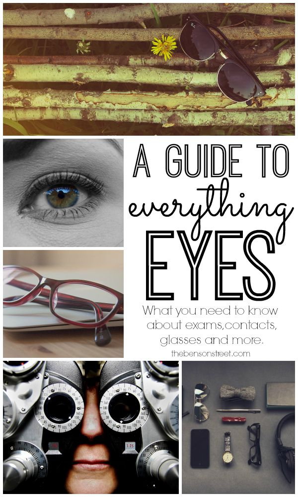 A Guide to Everything Eyes at thebensonstreet.com