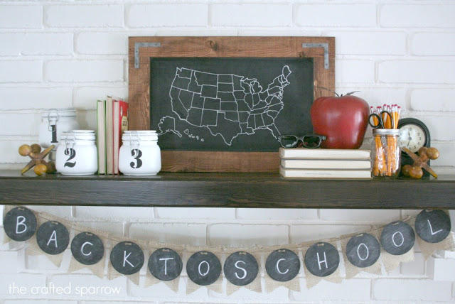 Back to School Mantle 4