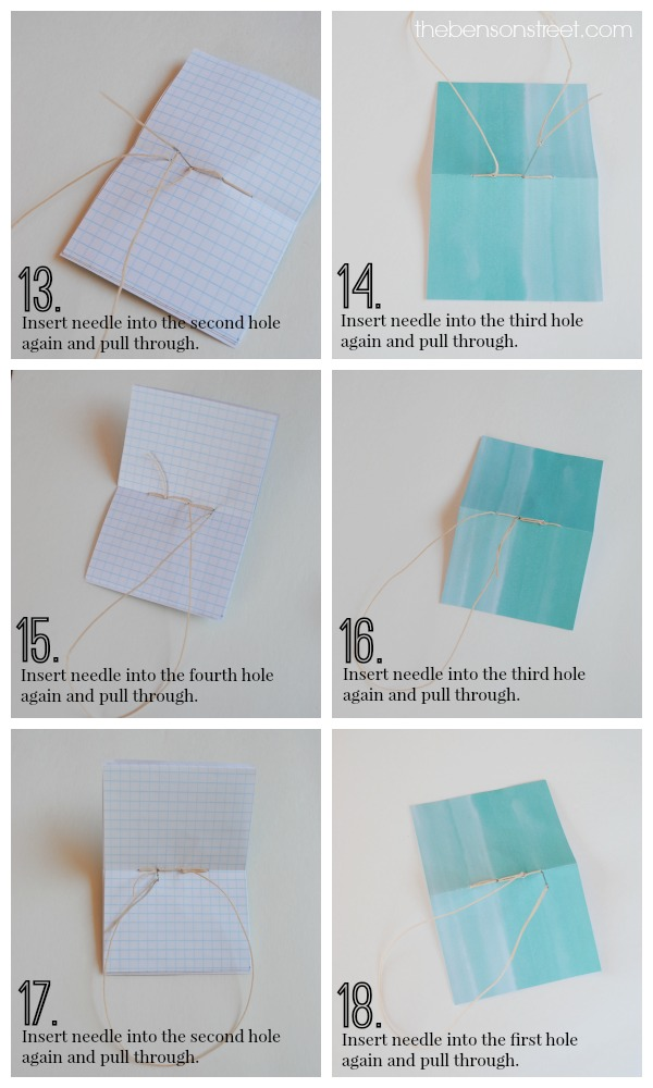 How to bind your own journals at thebensonstreet.com