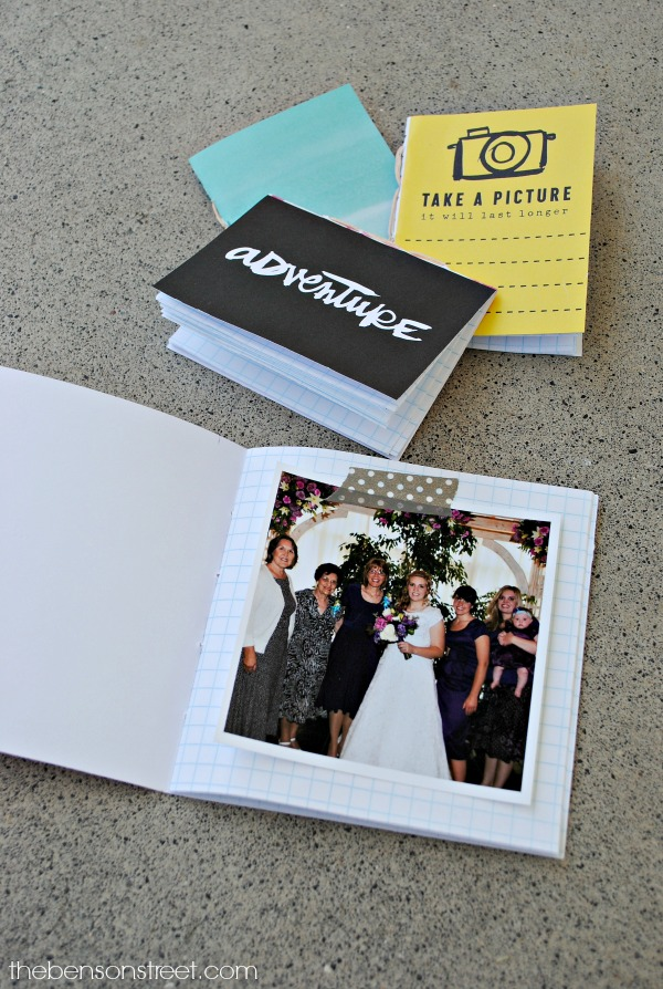 Make your own hand bound instagram album at thebensonstreet.com