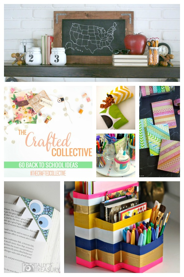 The Crafted Collective 60 Back to School Ideas at thebensonstreet.com