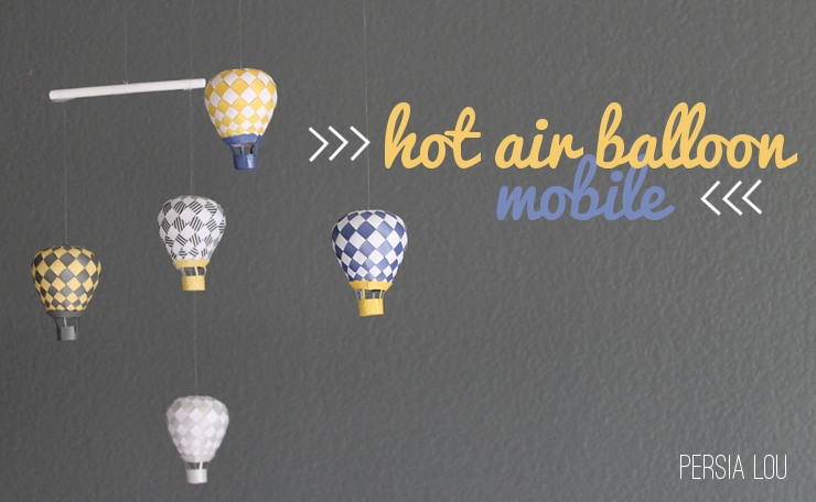 Mobile hot air balloons
