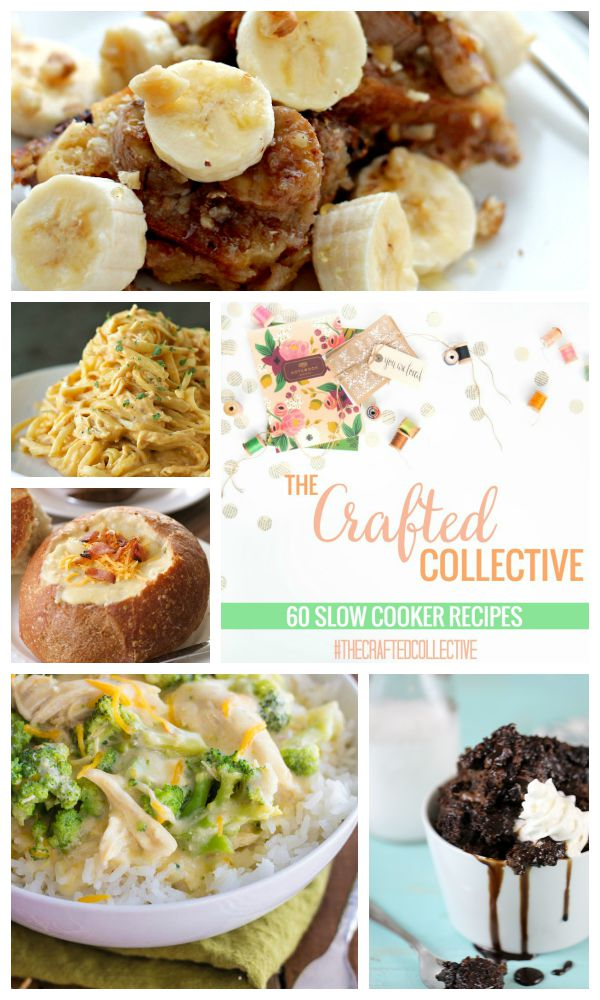 The Crafted Collective 60 Slow Cooker Recipes at thebensonstreet.com