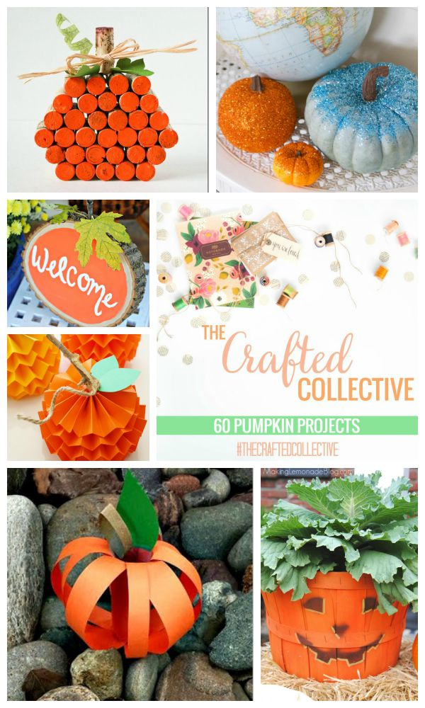 The Crafted Collective 60 Pumpkin Projects at thebensonstreet.com