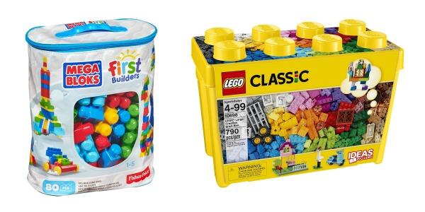 Mega Bloks and Lego's