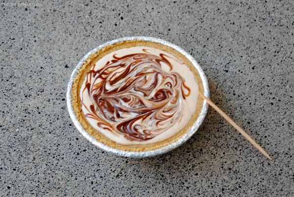 Yummy mini pumpkin nutella pie at thebensonstreet.com
