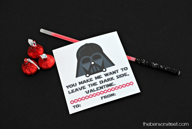 Print Your Favorites For Your Valentines. The Darth Vader ...