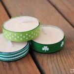 St. Patrick's Day Tea Lights