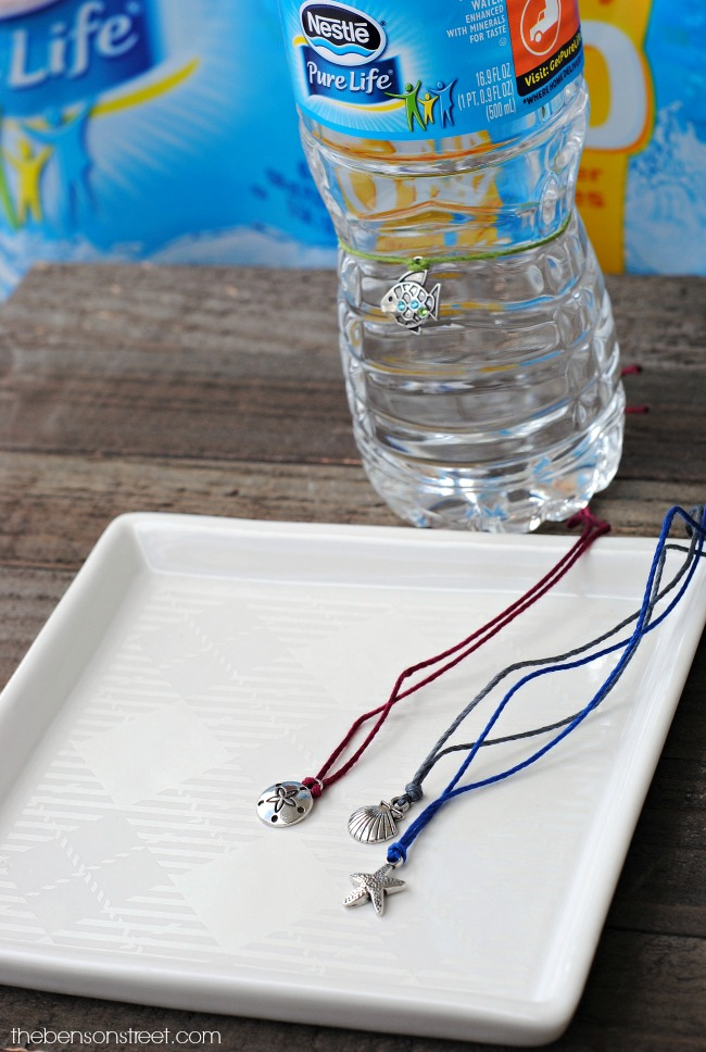 Water Bottle Charms - The Benson Street