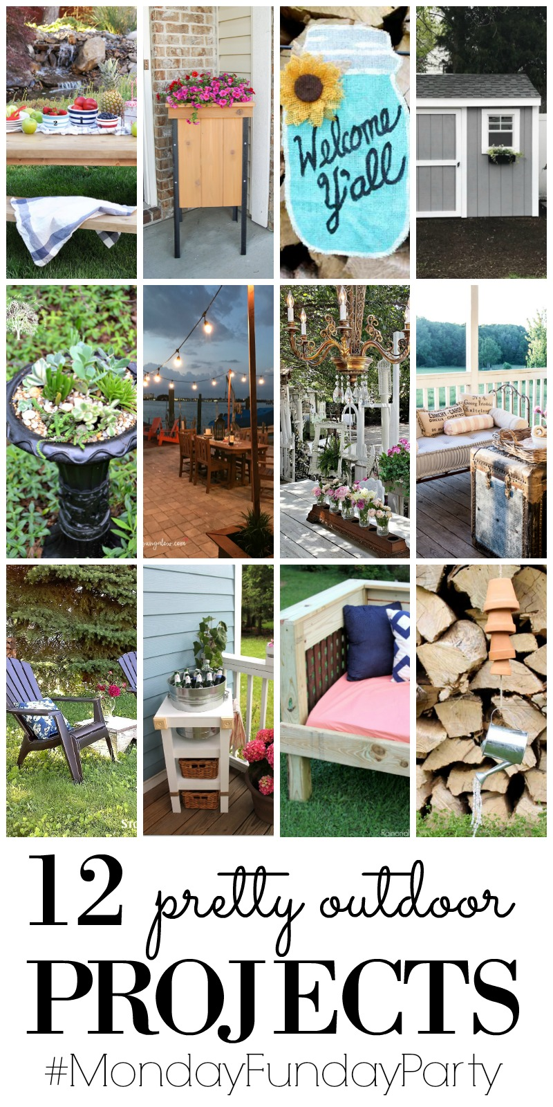 12 outdoor projects monday funday the benson street for Pretty project