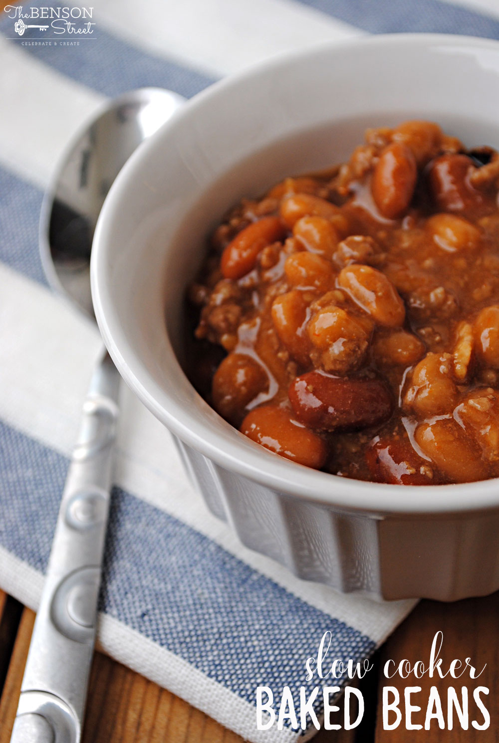 Slow Cooker Baked Beans - The Benson Street