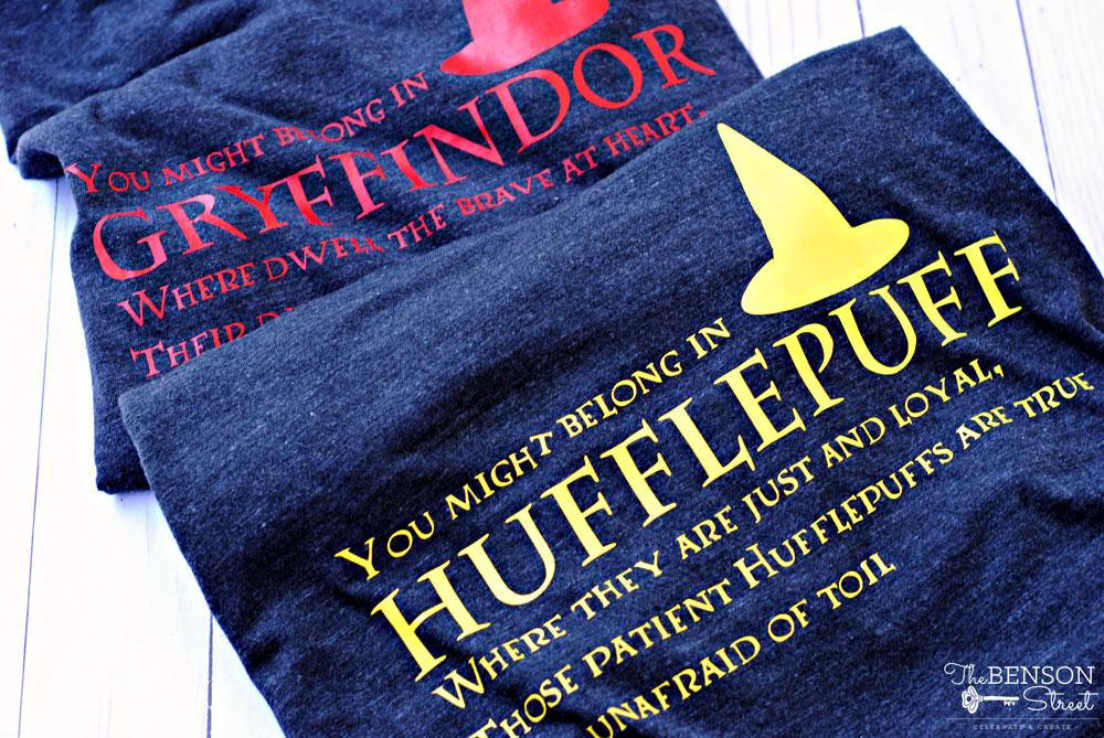 a5464f1621f Harry Potter Sorting Hat Shirts - The Benson Street