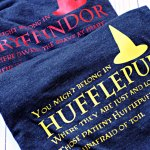 Harry Potter Sorting Hat Shirts