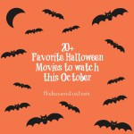 20+ Favorite Halloween Movies