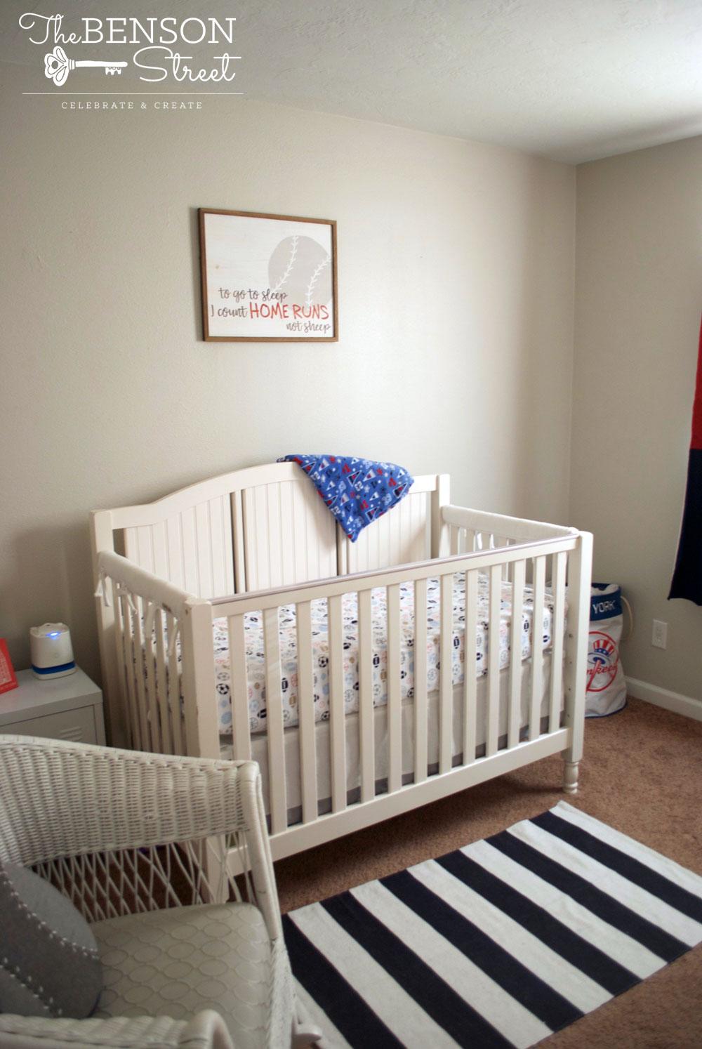 Cute Baby Boy Rooms: Baby Boy Baseball Nursery