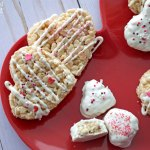 Valentine Rice Crispy Treats
