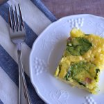 Spinach and Ham Egg Casserole