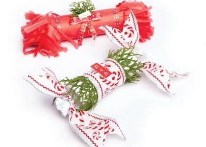 DIY: Christmas Cracker Place Cards