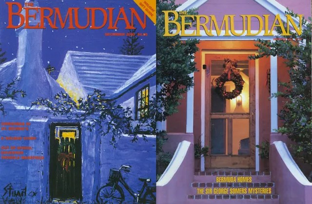 Vintage Christmas Covers of The Bermudian