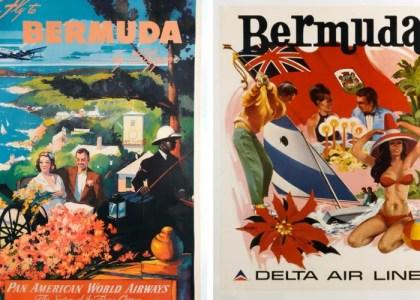5 Vintage Bermuda Posters You've Got To Have