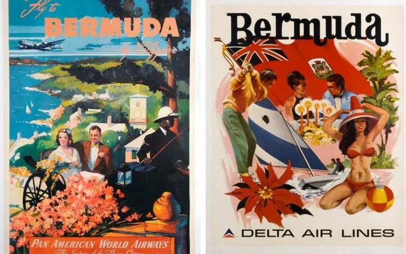 5 Vintage Bermuda Posters You've Got To Have