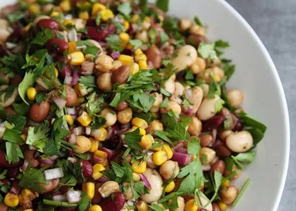 White Beans With Swiss Chard and Rice