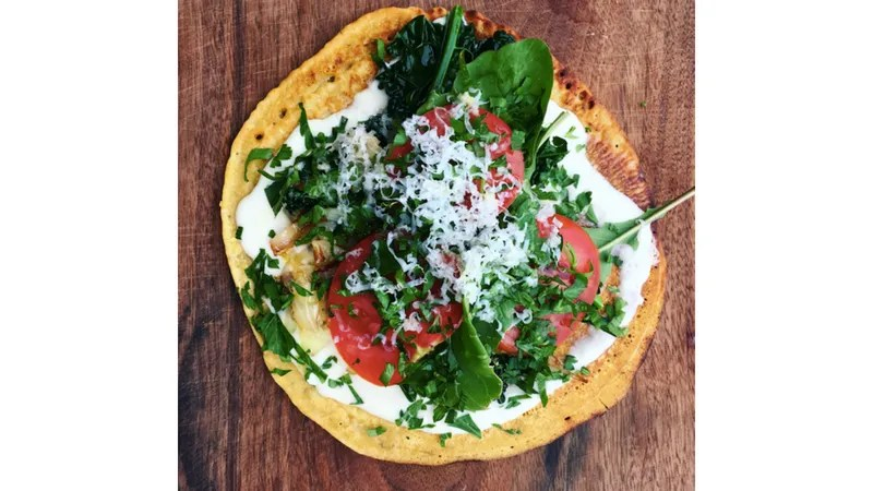 Summer Pizzas (and a Recipe for Gluten-Free Chickpea Crust)