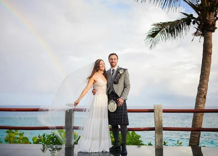 Real Wedding: Zoe & Bennet
