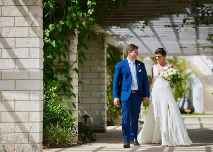Real Wedding: Nathalie & Darren