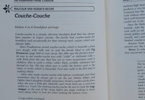 Couche-Couche Recipe in Prudhomme Family Cookbook