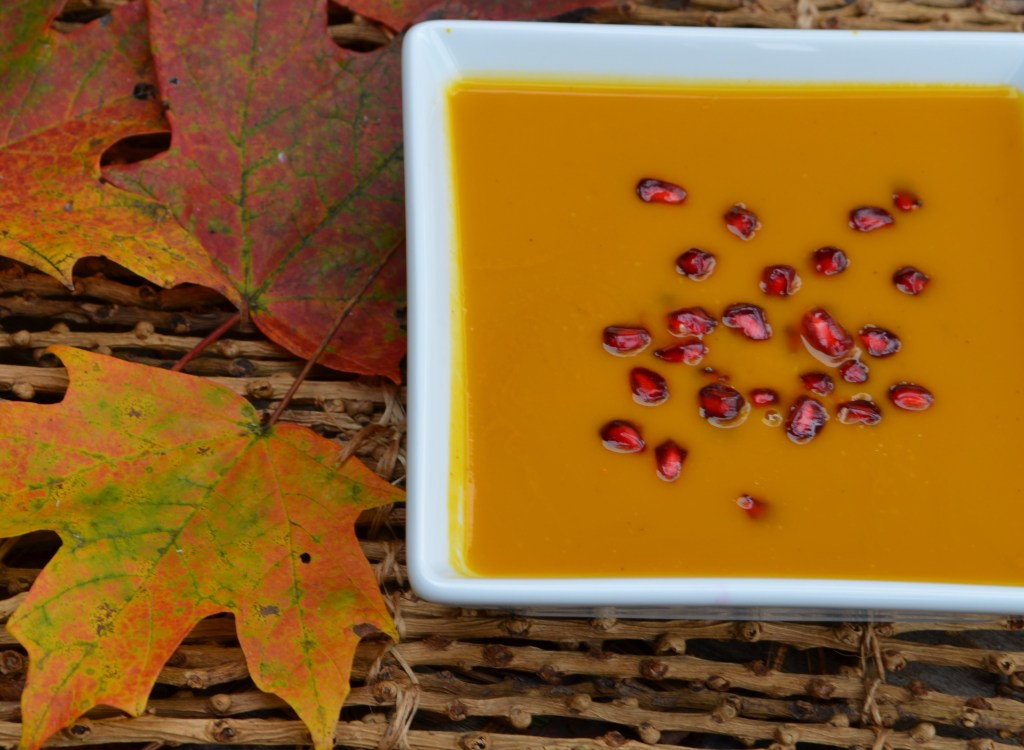Vegetarian Ginger Carrot Soup