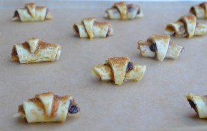 Shaped Rugelach Ready to Bake!