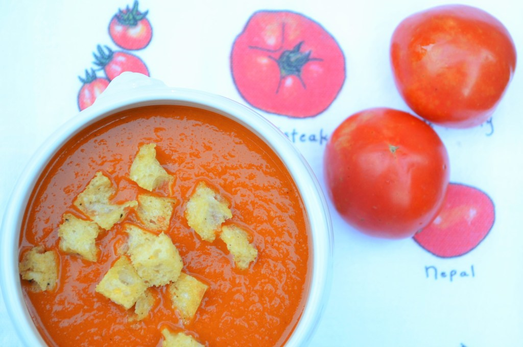 Grilled Fresh Tomato Soup is the New Orange