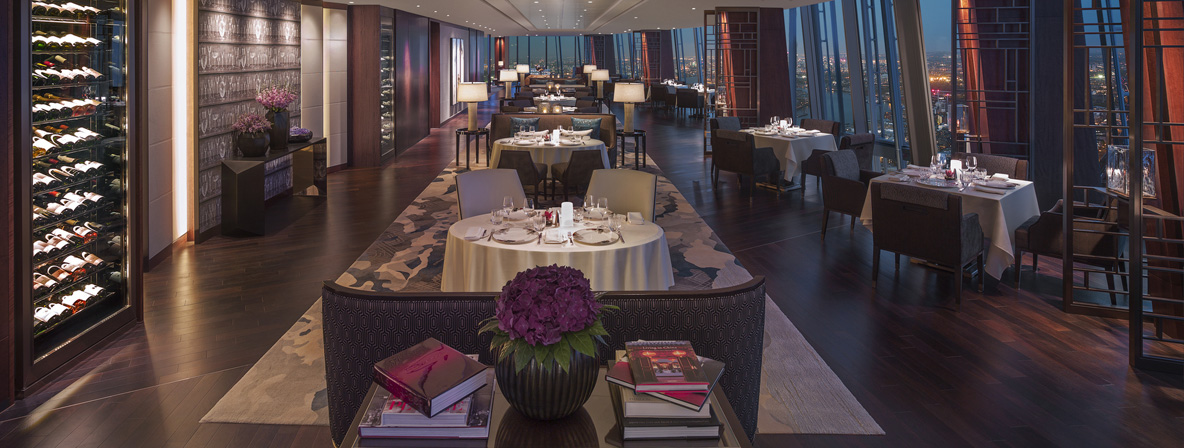 Dining with the stars at TĪNG at Shangri-La Hotel London
