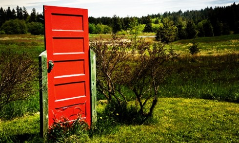 how to have a better life alternate reality red door in a field