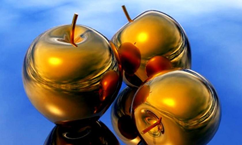 The Best Advice So Far - golden apples / Golden Rule