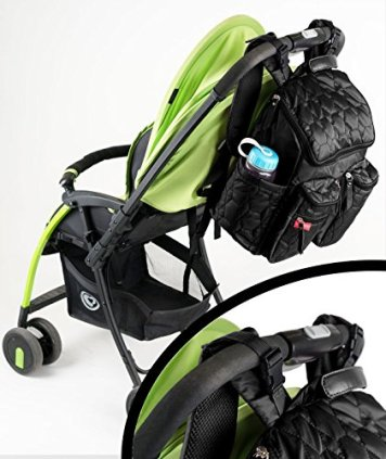 Wallaroo Diaper Bag Backpack comes with Stroller Straps