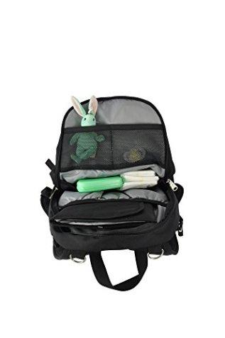 black diaper bag backpack