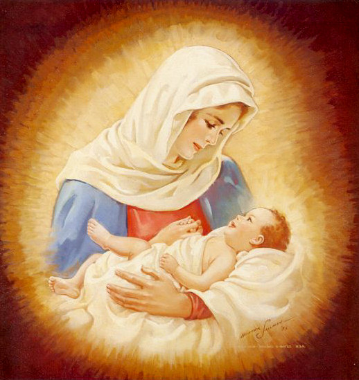 The Solemnity of Mary, Mother of God on New Year's Day - The Best Catholic