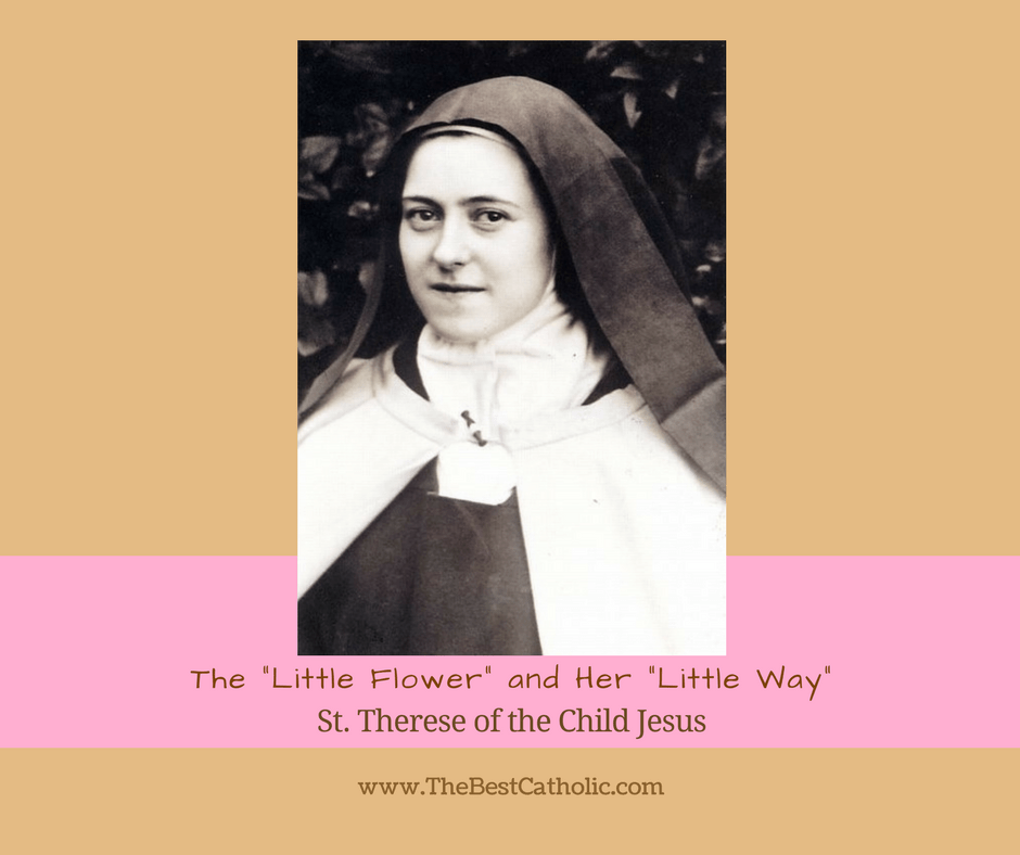 St Therese The Little Flower