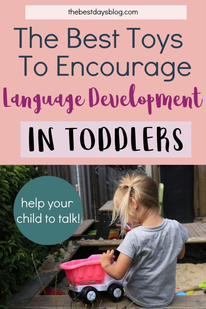 The best toys to encourage language development in toddlers