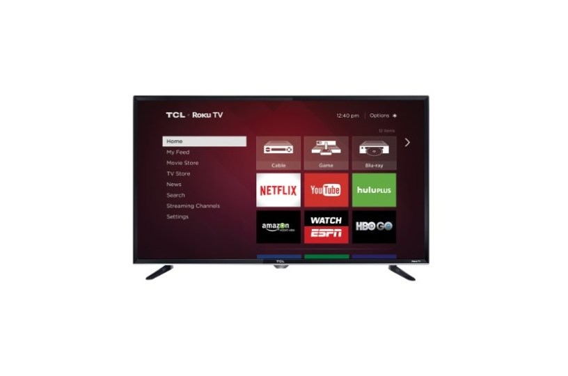 Tcl 55 55c807 4k Ultra Hd Hdr Roku Smart Tv W Voice Search Remote