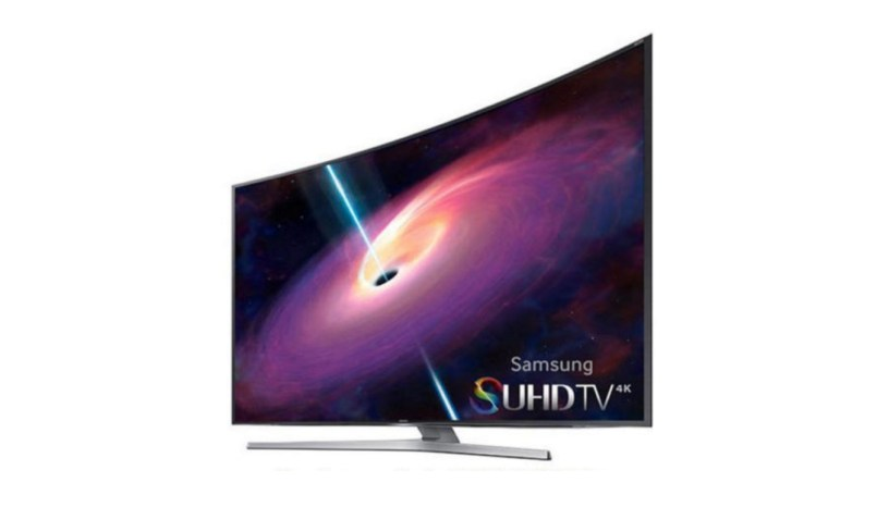Samsung 4K SUHD 3D Curved Smart LED TV