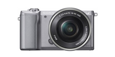 Sony – Alpha a5000 Mirrorless Camera with 16-50mm Retractable Lens