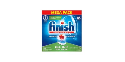 Finish All In 1 Powerball Fresh 85 Tabs Dishwasher Detergent Tablets