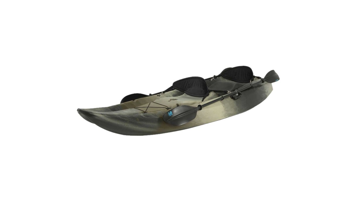 Lifetime 10inch Tandem Fishing Kayak with Paddles & Backrests for $529.00 at Sam's Club
