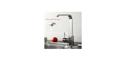 Mannice Modern Kitchen Sink Faucet 90 Degree Single Handle