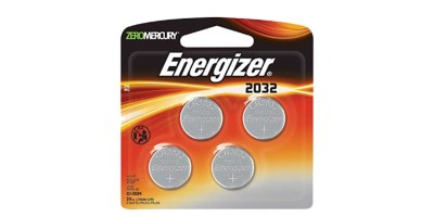 Pack of 4 Energizer 2032BP 4 3 Volt Lithium Coin Battery